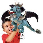plyšový Velký nebeský drak, plyšová hračka