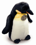 plyšový Velký tučňák s mládětem, plyšová hračka