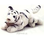 plyšový Velký tygr bílý