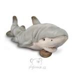 plyšový Velký žralok bílý