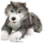 plyšový Vlk Timber