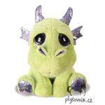 plyšový Zelený drak Blaze, plyšová hračka