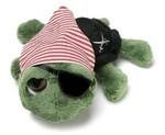 plyšový Želva Shecky pirát, plyšová hračka