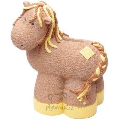 Plyšová hračka: Pokladnička poník Patch Pony plyšová | Russ Berrie