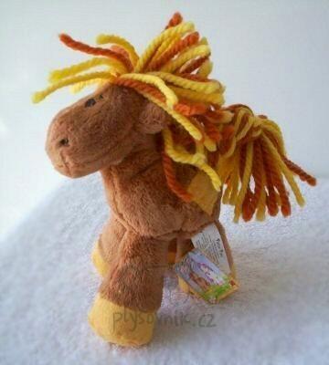 Plyšová hračka: Poník Patch Pony menší hnědý plyšový | Russ Berrie