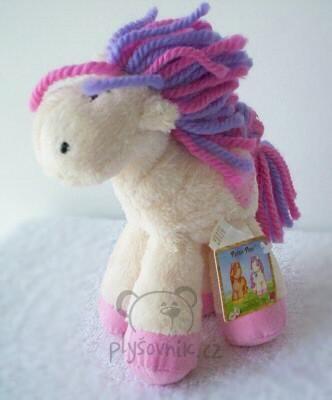 Plyšová hračka: Poník Patch Pony menší světlý plyšový | Russ Berrie