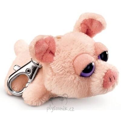 Plyšová hračka: Prasátko Audrey klíčenka plyšová | Russ Berrie