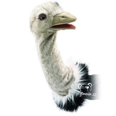 Plyšová hračka: Pštros maňásek na ruku plyšový | Folkmanis