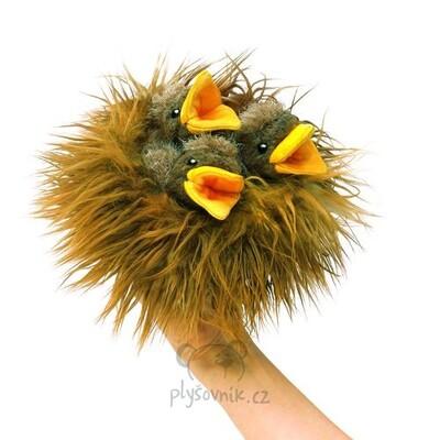 Plyšová hračka: Ptačí hnízdo plyšové | Folkmanis