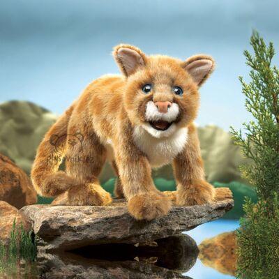 Plyšová hračka: Puma americká plyšová | Folkmanis