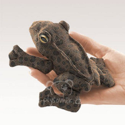 Plyšová hračka: Ropucha maňásek na prst plyšák | Folkmanis