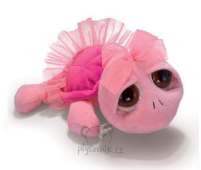 Plyšová hračka: Růžová želva Swirly plyšová | Russ Berrie