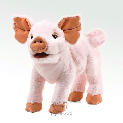 Plyšová hračka: Růžové prasátko plyšové | Folkmanis