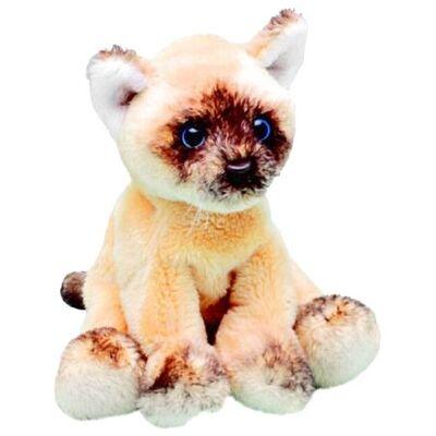 Plyšová hračka: Sedící kočka ragdoll plyšák | Suki Gifts