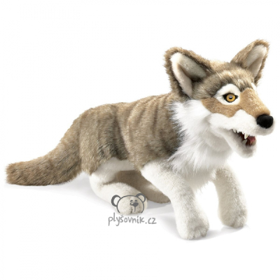 Plyšová hračka: Šedý vlk plyšový | Folkmanis