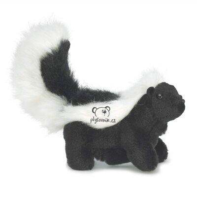Plyšová hračka: Skunk na prst  plyšový | Folkmanis