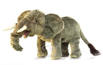 Plyšová hračka: Slon menší plyšový | Folkmanis