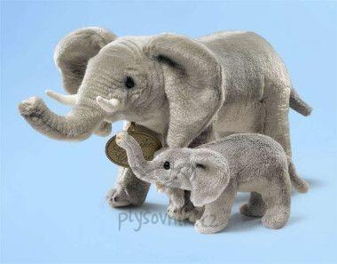Plyšová hračka: Slon s mládětem plyšový | Russ Berrie