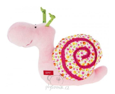 Plyšová hračka: Šnek chrastítko plyšák | ESPRIT