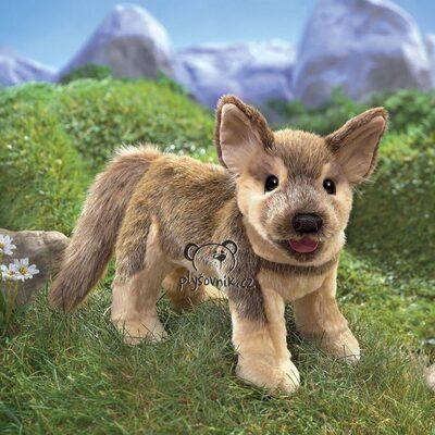 Plyšová hračka: Štěně německého ovčáka plyšový | Folkmanis