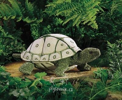 Plyšová hračka: Suchozemská želva plyšová | Folkmanis