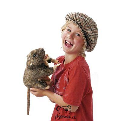 Plyšová hračka: Sysel na ruku plyšový | Folkmanis