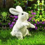 plyšový Bílý králíček ušáček