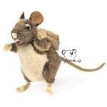 plyšový Potkan s batůžkem
