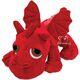 Plyšová hračka: Rudý drak Ember plyšový, Suki Gifts