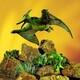 Plyšová hračka: Pteranodon plyšový, Folkmanis