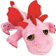 Plyšová hračka: Růžový drak Smoulder plyšový, Suki Gifts