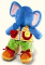 Plyšová hračka: Knoflíkový slon plyšový, Russ Berrie