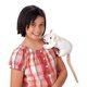 Plyšová hračka: Bílá krysa plyšový, Folkmanis