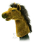 Plyšová hračka: Maňásek kůň plyšový, Folkmanis
