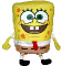 Plyšová hračka: Velký SpongeBob v kalhotách plyšový, Viacom