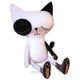 Plyšová hračka: Emo kočka plyšová, Bibelot Forest