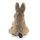 Plyšová hračka: Maňásek na prst zajíc plyšový, Folkmanis