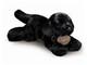 Plyšová hračka: Štěně černý labrador plyšový, Russ Berrie