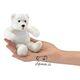 Plyšová hračka: Lední medvěd na prst plyšový, Folkmanis