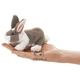 Plyšová hračka: Králík na prst plyšový, Folkmanis