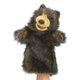 Plyšová hračka: Maňásek medvěda plyšový, Folkmanis