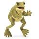 Plyšová hračka: Veselá žába plyšový, Folkmanis
