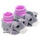Plyšová hračka: Růžové dětské botičky Oslík plyšové, Suki Gifts