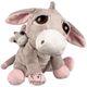 Plyšová hračka: Oslík Luna s miminkem plyšák, Suki Gifts