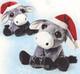 Plyšová hračka: Oslík Daisy s čepicí plyšový, Russ Berrie