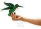 Plyšová hračka: Maňásek na prst labrador plyšový, Folkmanis