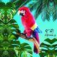 Plyšová hračka: Papoušek Ara plyšový, Folkmanis