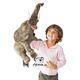 Plyšová hračka: Slon plyšový, Folkmanis