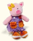 Plyšová hračka: Knoflíkové prasátko plyšové, Russ Berrie