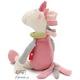 Plyšová hračka: Jednorožec Sweety růžový plyšák, sigikid